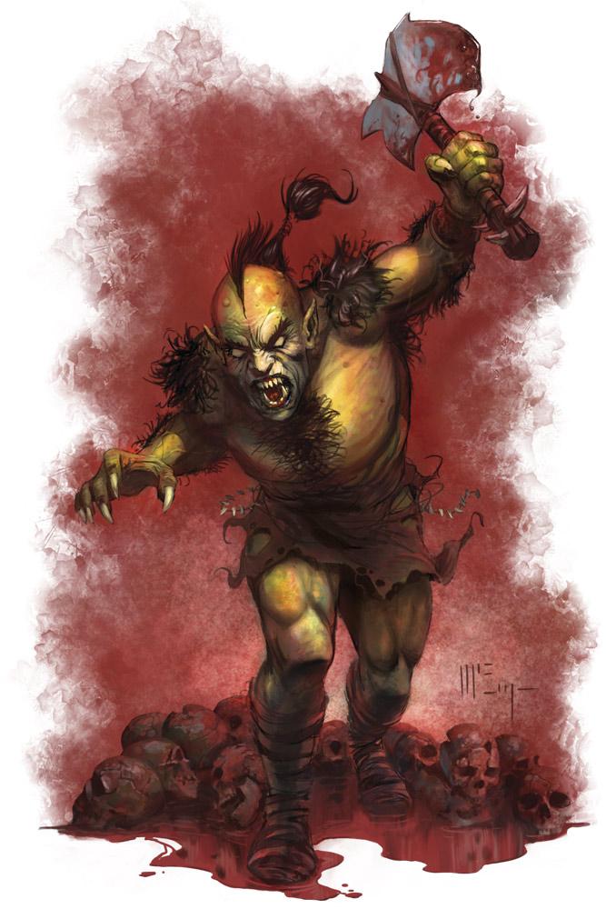 The Ogre by PatrickMcEvoy