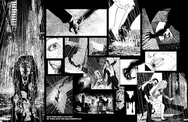Casefile: Arkham chapter 1 pgs 2-3 by PatrickMcEvoy