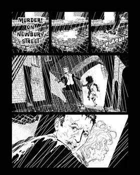 Casefile: Arkham chapter 1 pg 1