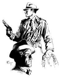 Casefile: Arkham - Hank Flynn, P.I. by PatrickMcEvoy