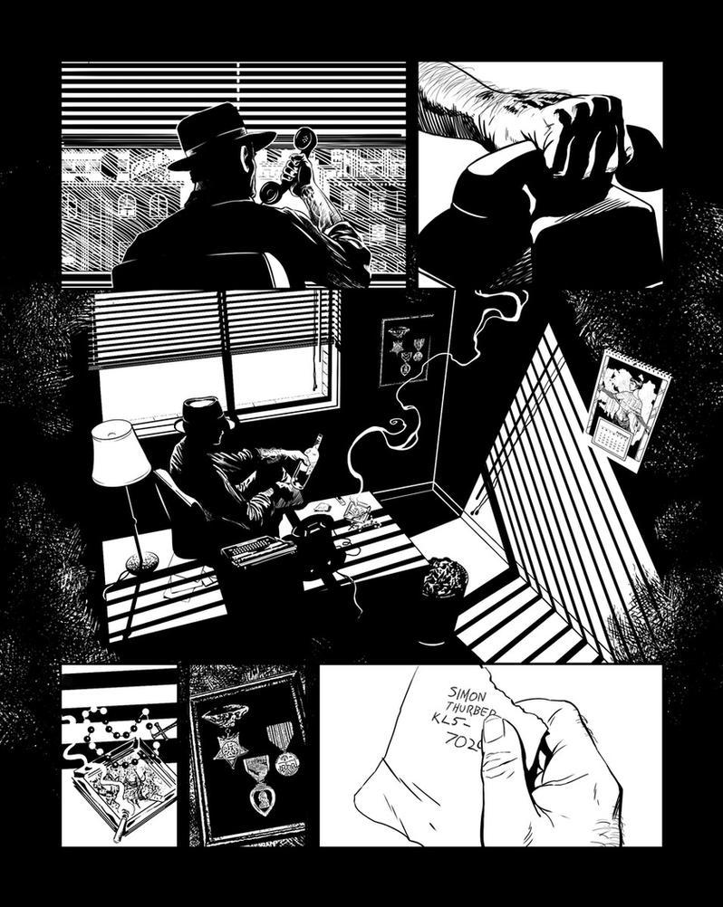 Casefile: Arkham ch1 pg 22 by PatrickMcEvoy