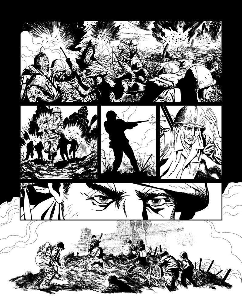 Casefile: Arkham Ch2 pg1 by PatrickMcEvoy