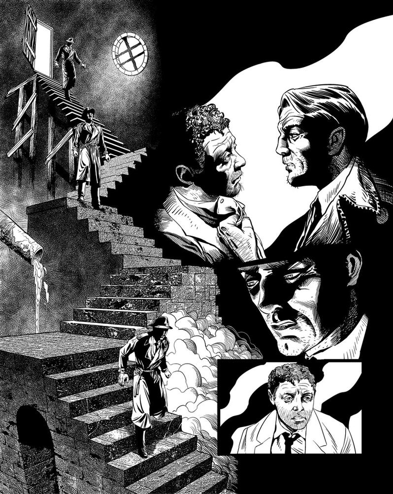 Casefile: Arkham Ch3 pg11 by PatrickMcEvoy