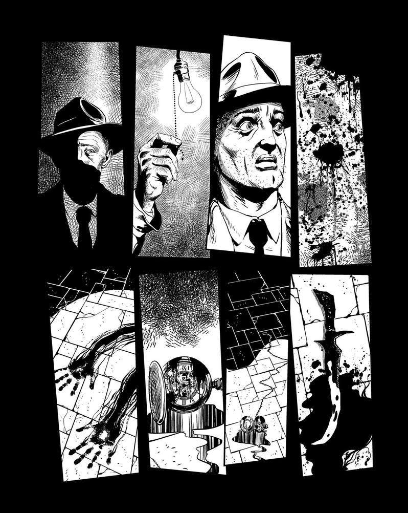Casefile: Arkham Ch3 pg12 by PatrickMcEvoy