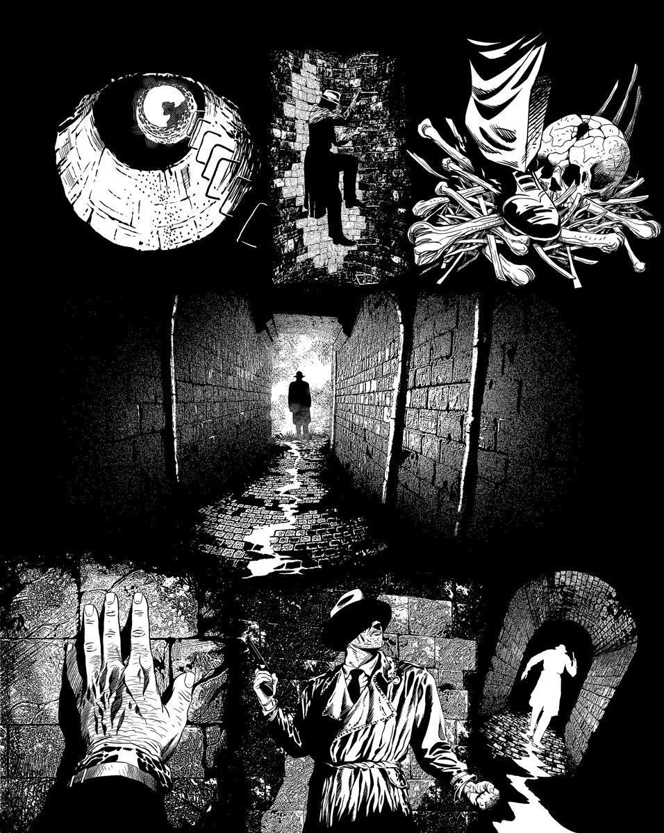 Casefile: Arkham Ch4 pg11 by PatrickMcEvoy
