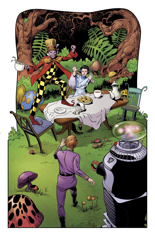 Lost in Space#4, pg 18 Malice in Wonderland by PatrickMcEvoy