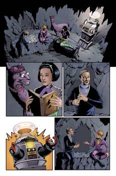 Lost in Space #4 pg 2  - Malice in Wonderland