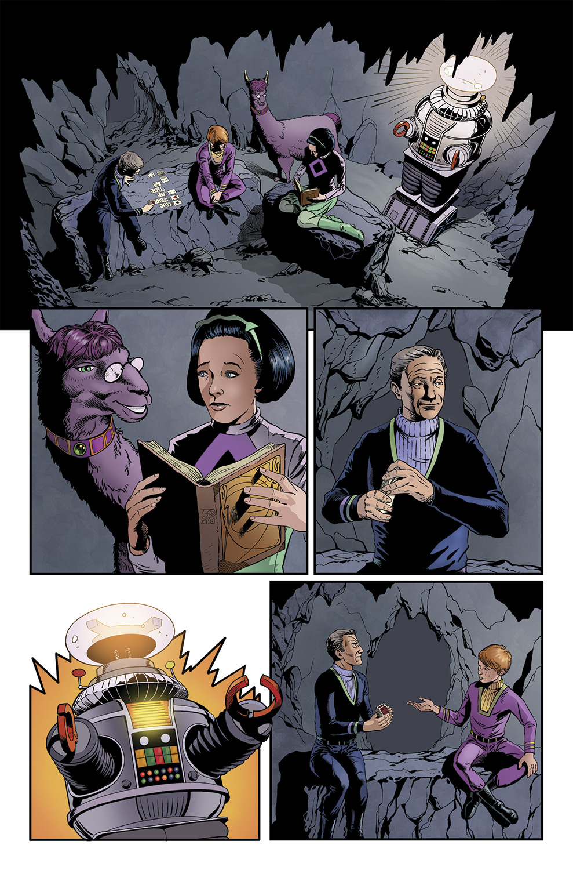 Lost in Space #4 pg 2  - Malice in Wonderland by PatrickMcEvoy