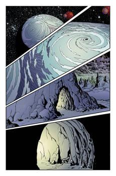 Lost in Space #4 pg 1 - Malice in Wonderland