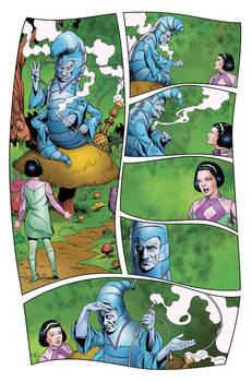 Lost in Space #4 pg 8 - Malice in Wonderland