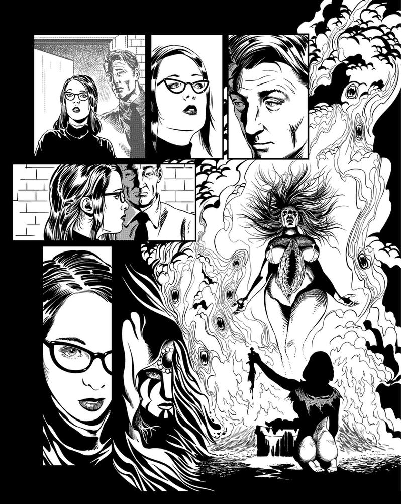 Casefile: Arkham - Her Blood Runs Cold, Ch2 pg18 by PatrickMcEvoy