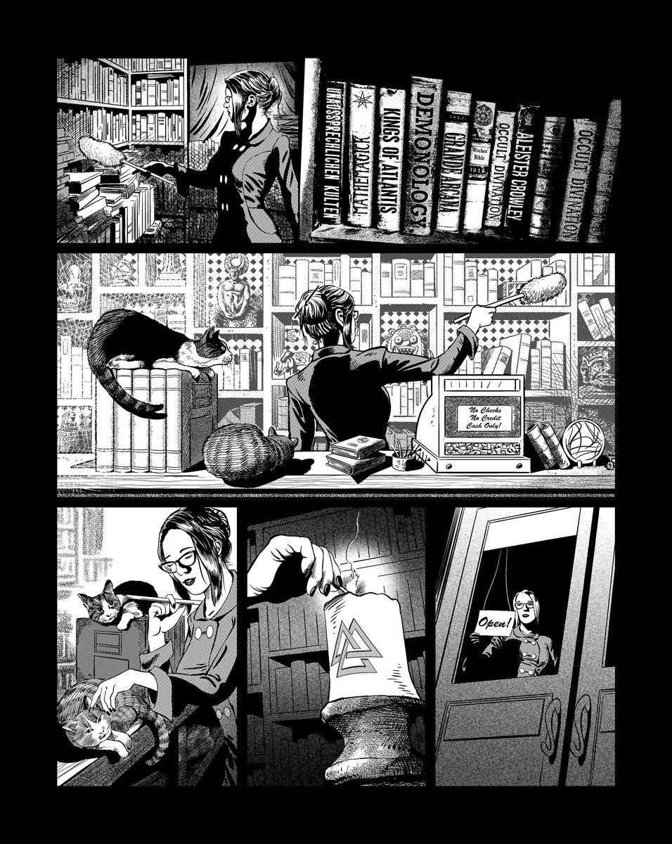 Casefile: Arkham - Her Blood Runs Cold, Ch1 pg21 by PatrickMcEvoy