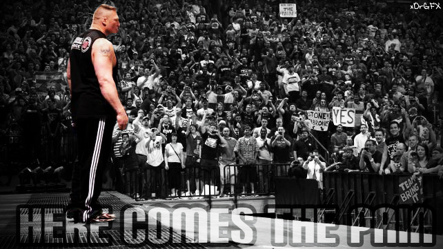 Brock Lesnar WWE Return Wallpaper By XDrGFX