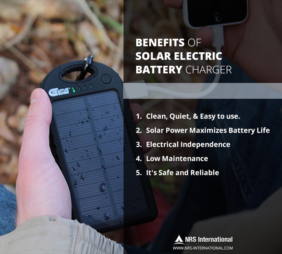 Benefits Of Solar Electric Battery Charger by Ainsley9