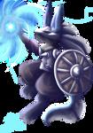 [Charity Collab]Medieval Pokemon-Warrior Lucario