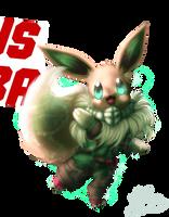 [Collab]Pokemon in Costumes-Eevee!Deku by Gartendrache