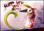 [Creepypasta]Happy New Year!!!