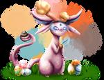 [Collab]Easter Espeon