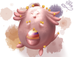 [Collab]Easter Chansey