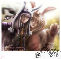 [Easter2019]Cute Bunnies by Gartendrache