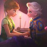 Anna and Elsa frozen fever 2