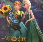 Anna and Elsa frozen fever 3