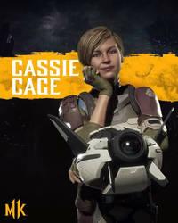 mk11 cassie cage by queenElsafan2015