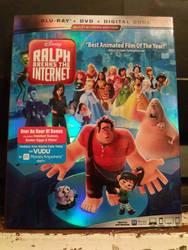 Wreck it Ralph 2 DvD blu ray combo pack by queenElsafan2015