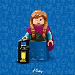 lego Anna by queenElsafan2015