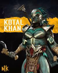 Mk11 Kotal Kahn by queenElsafan2015