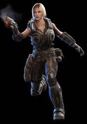 Anya stroud Gears of war 3