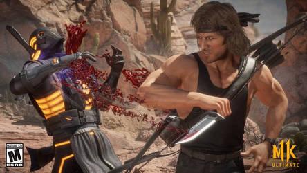 Mk 11 Rambo vs Noob