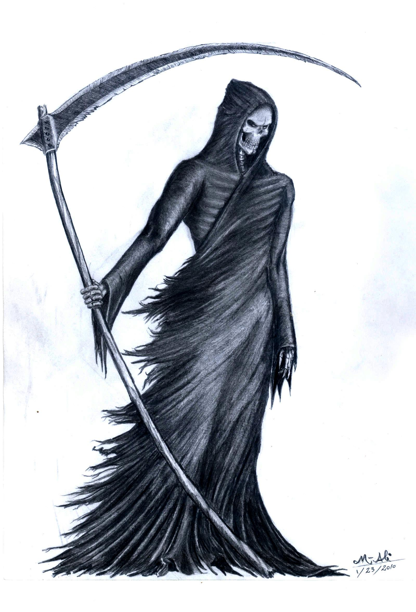 Grim Reaper by GrimShady on DeviantArt