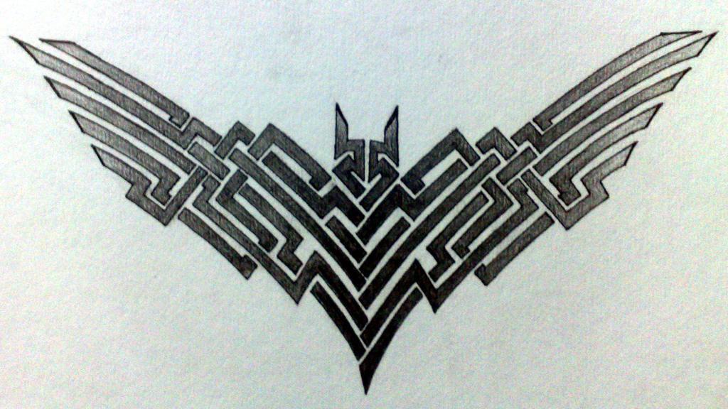 Batman Tattoo By GrimShady
