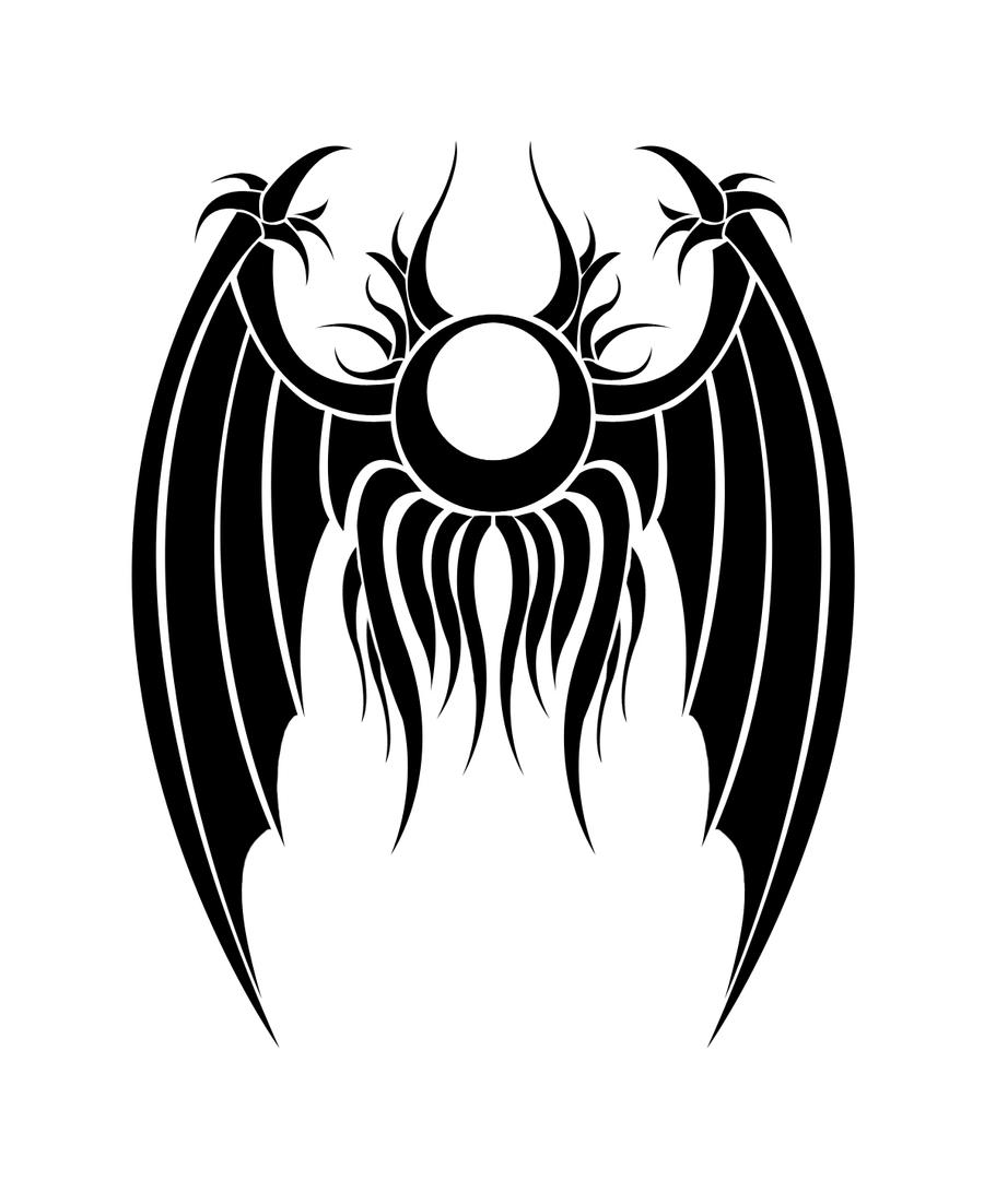 Ulquiorra Closed wing Tattoo
