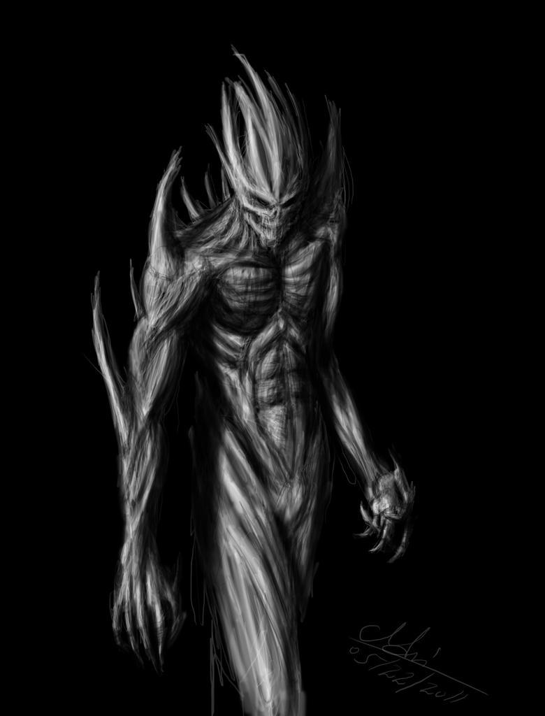 Dark,Monster&Demon - Page 3 Demon_monster_by_grimshady-d3gviyj