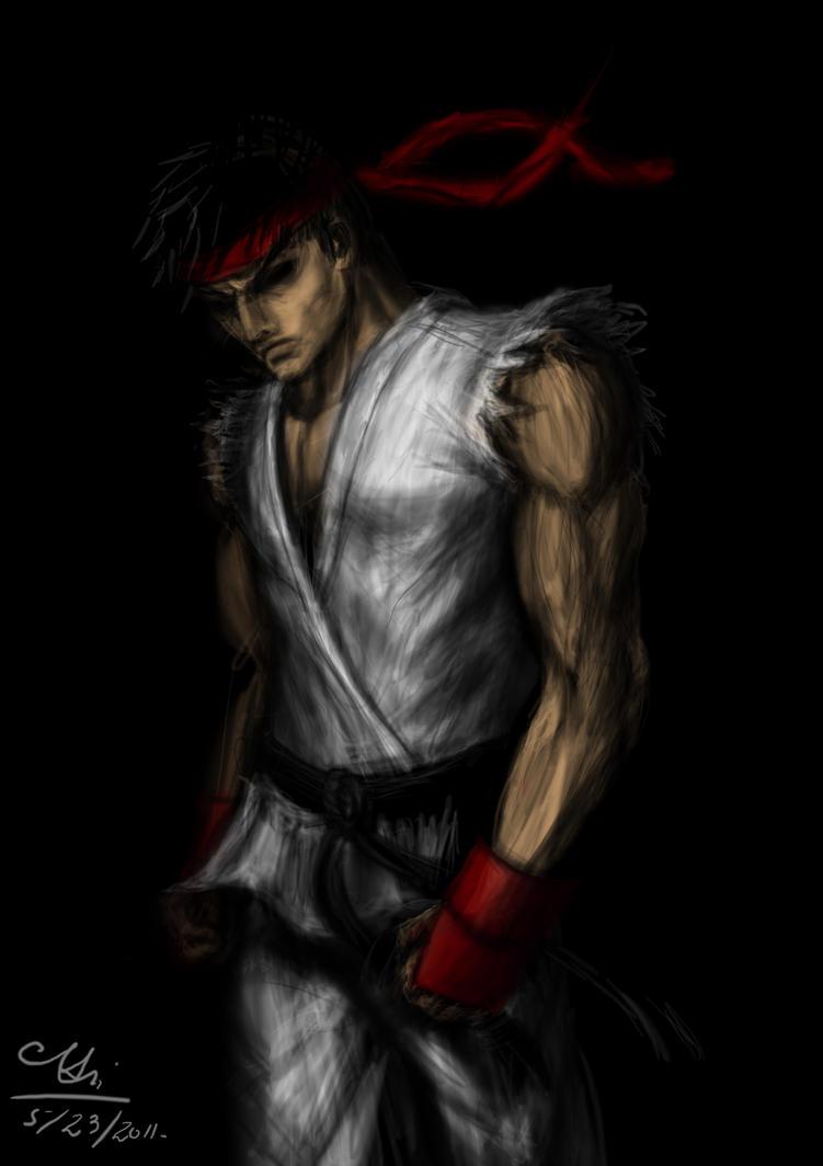 Ryu by GrimShady