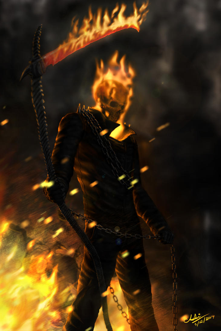 Ghost Rider by GrimShady