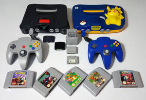 The Nintendo 64 collection.