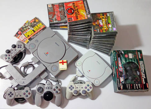 Playstation collection.