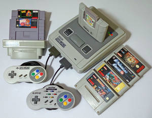 The Super Nintendo collection.