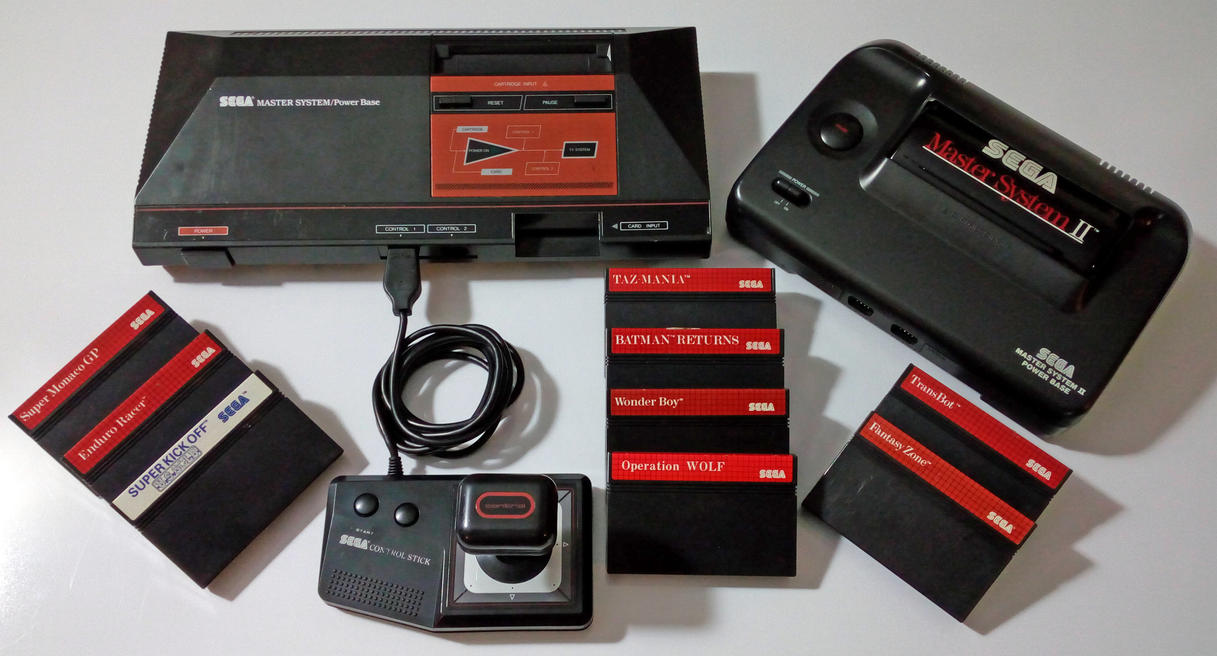 Sega Master System Collection by GrimShady