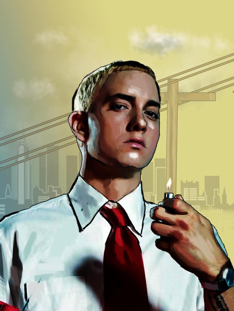 Eminem fan art by ovidigitalart on DeviantArt