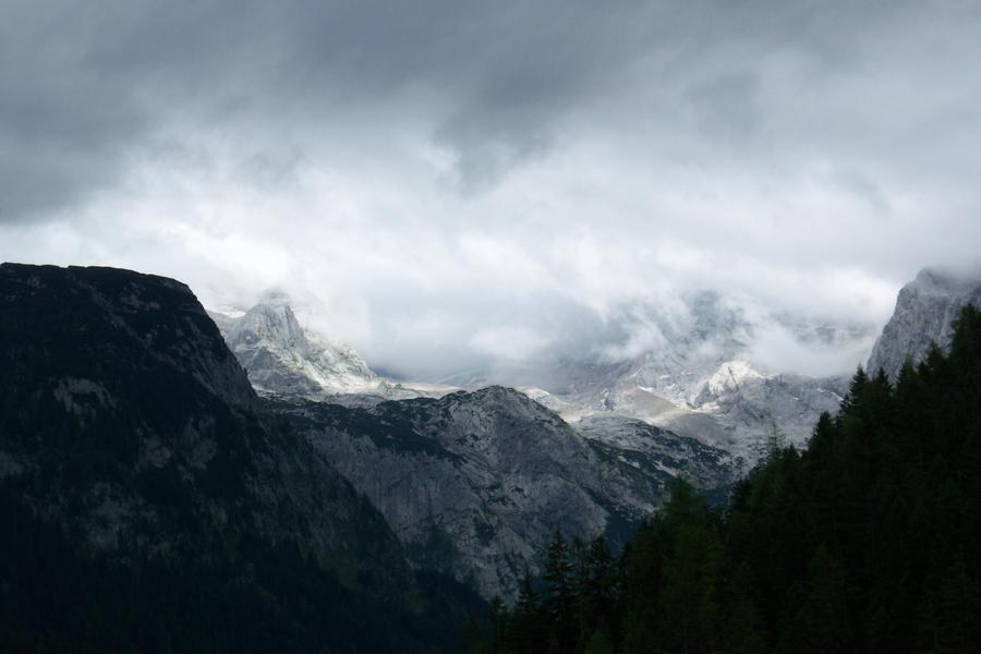 Gone Glacier by Morrygan
