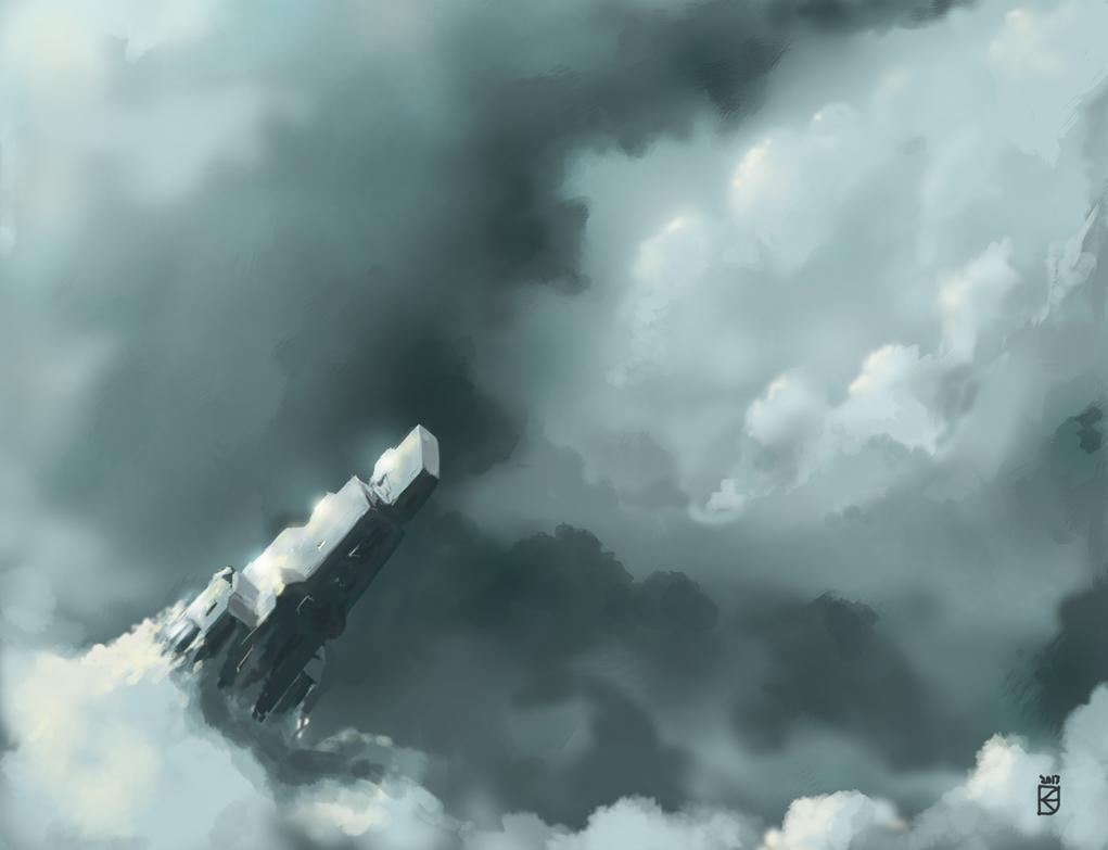 Voyage Through the Clouds by GaBoOwnz