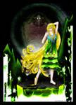 Green Crystal Princess