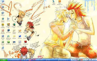 Desktop: Akuroku Infested by Norikuu