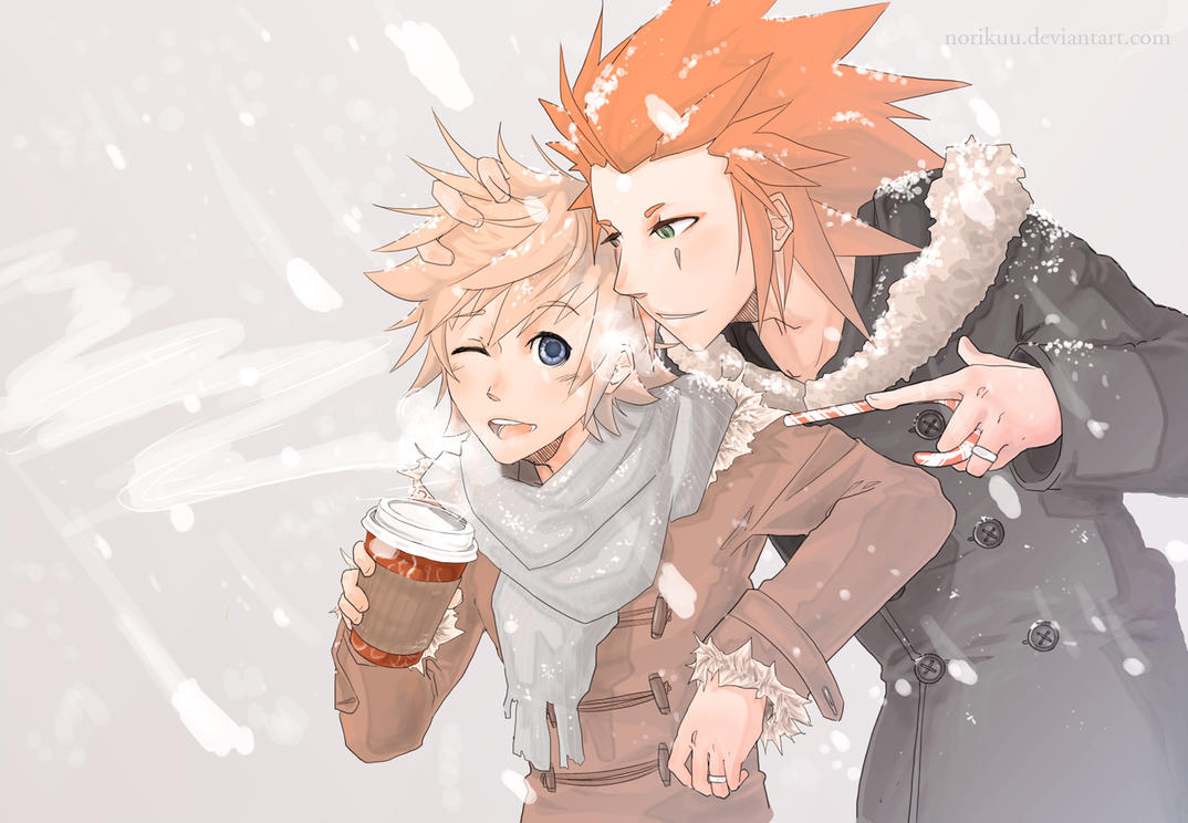 KH: Snow Days by Norikuu