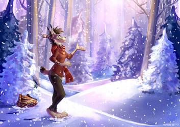Let It Snow by multyashka-sweet