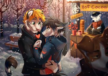 Warm winter hugs by multyashka-sweet